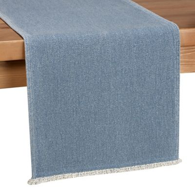 Beau Piana 90 Inch Table Runner With Fringe