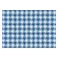 The Softer Side of Weather Guard™ Houndstooth 46-Inch x 66-Inch Area Mat in Blue