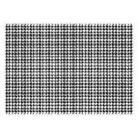 The Softer Side of Weather Guard™ Houndstooth 46-Inch x 66-Inch Area Mat in Black