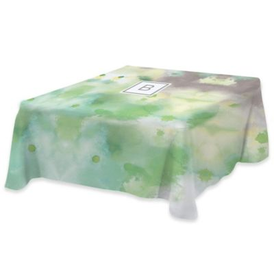 Spring Abstract II 58 Inch Square Tablecloth