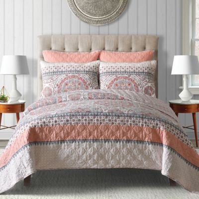 Buy Coral King Quilt from Bed Bath & Beyond : coral quilt - Adamdwight.com