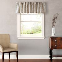 Laura Ashley® 15-Inch Victoria Window Valance in Taupe