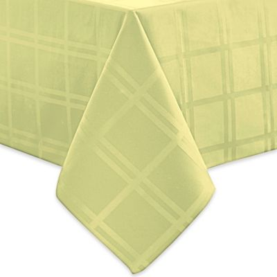 Marvelous Origins™ Microfiber 70 Inch X 120 Inch Oblong Tablecloth In Kiwi
