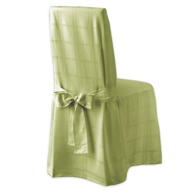 OriginsTM Microfiber Dining Room Chair Cover In Kiwi