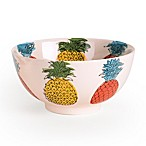 Signature Housewares Pineapple 6-Inch Utility Bowls (Set of 4)
