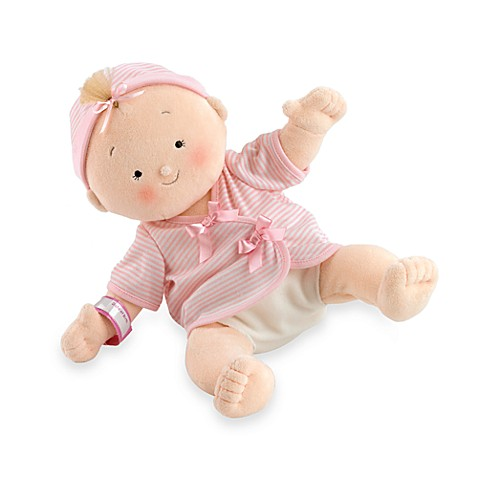 North American Bear Co. Rosey Cheek™ Blonde Baby Girl Doll