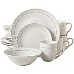 Gibson Home Platinum Moon 16-Piece Dinnerware Set
