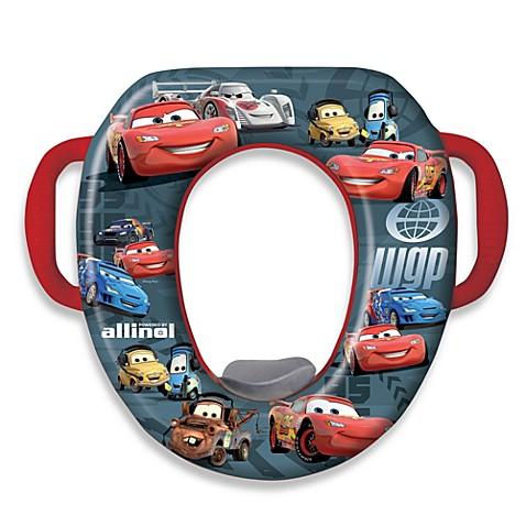 ginsey disney pixars cars soft potty seat