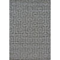 Feizy Greystone 2-Foot x 3-Foot Accent Rug in Graphite