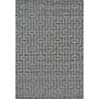 Feizy Greystone 4-Foot x 6-Foot Area Rug in Graphite