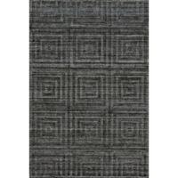 Feizy Greystone 4-Foot x 6-Foot Area Rug in Grey