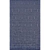 Feizy Greystone 4-Foot x 6-Foot Area Rug in Dark Blue