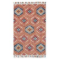 Feizy Bromeliad 3-Foot 6-Inch x 5-Foot 6-Inch Area Rug in Gold