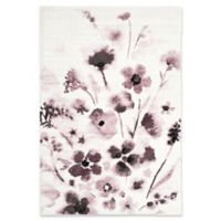Safavieh Adirondack Watercolor Floral 5-Foot 1-Inch x 7-Foot 6-Inch Area Rug in Ivory