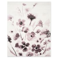 Safavieh Adirondack Watercolor Floral 6-Foot x 9-Foot Area Rug in Ivory