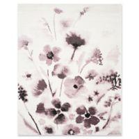 Safavieh Adirondack Watercolor Floral 6-Foot x 9-Foot Area Rug in Ivory