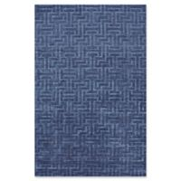 Feizy Greystone 2-Foot x 3-Foot Accent Rug in Blue