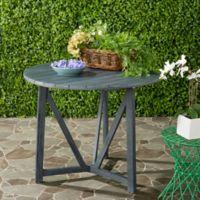 Safavieh Cloverdale Outdoor Table in Ash Grey