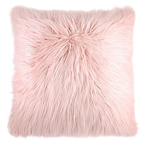 Flokati Faux Fur Throw Pillow Bed Bath & Beyond