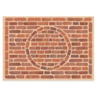 The Softer Side by Weather Guard™ 46-Inch x 66-Inch Framed Brick Kitchen Mat