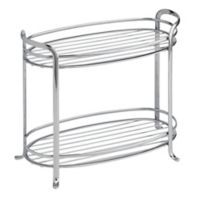 InterDesign® Axis 2-Tier Storage Shelf in Chrome