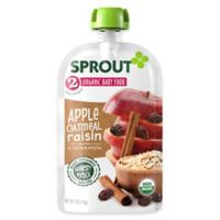 Sprout® 4-Ounce Stage 2 Organic Baby Food in Apple, Cinnamon and Oatmeal