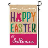 """Hoppy Easter"" Outdoor Garden Flag"