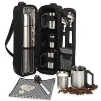 Picnic at Ascot Vienna Coffee and Tea Tote in Black