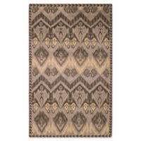 Safavieh Kenya Geometric Tribal 5-Foot x 8-Foot Area Rug in Gold/Beige
