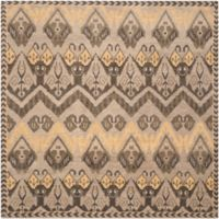 Safavieh Kenya Geometric Tribal 7-Foot Square Area Rug in Gold/Beige