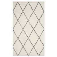 Safavieh Kenya Linear 8-Foot x 10-Foot Area Rug in Ivory/Grey