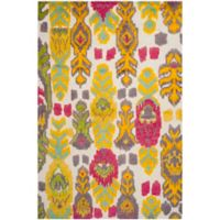 Safavieh Kenya Vibrant Tribal Multicolor 9-Foot x 12-Foot Multicolor Area Rug