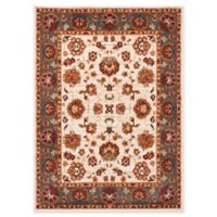 Safavieh Summit Floral Border 5-Foot 1-Inch x 7-Foot 6-Inch Area Rug in Ivory/Grey