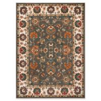 Safavieh Summit Floral Border 5-Foot 1-Inch x 7-Foot 6-Inch Area Rug in Grey/Ivory