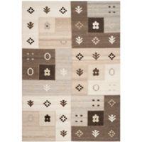Safavieh Kenya Tile 9-Foot x 12-Foot Area Rug in Natural