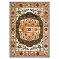 Safavieh Summit Kaleidoscope 5-Foot 1-Inch x 7-Foot 6-Inch Area Rug in Grey/Ivory