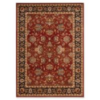 Safavieh Summit Antique Floral 5-Foot 1-Inch x 7-Foot 6-Inch Area Rug in Red/Dark Grey