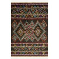 Safavieh Kenya Geometric 9-Foot x 12-Foot Multicolor Area Rug