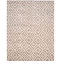 Safavieh Amsterdam Diamond 8-Foot x 10-Foot Area Rug in Mauve