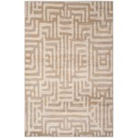 Safavieh Amsterdam Geometric 4-Foot x 6-Foot Area Rug in Mauve