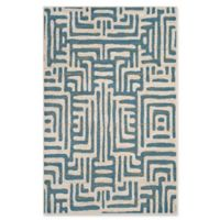 Safavieh Amsterdam Geometric 5-Foot 1-Inch x 7-Foot 6-Inch Area Rug in Light Blue