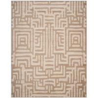 Safavieh Amsterdam Geometric 8-Foot x 10-Foot Area Rug in Mauve