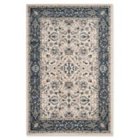 Safavieh Carolina 475 5-Foot 1-Inch x 7-Foot 6-Inch Area Rug in Cream/Dark Blue