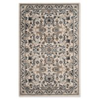 Safavieh Carolina 4-Foot x 6-Foot Accent Rug in Cream/Dark Blue