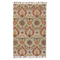 Feizy Bromeliad Abelia 2-Foot x 3-Foot Accent Rug in Natural