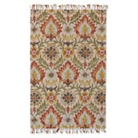 Feizy Bromeliad Abelia 5-Foot x 8-Foot Area Rug in Natural