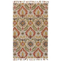 Feizy Bromeliad Abelia 8-Fooot Round Area Rug in Natural