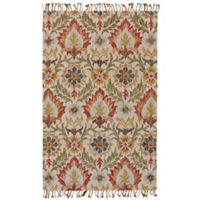 Feizy Bromeliad Abelia 8-Foot x 11-Foot Area Rug in Natural