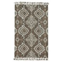 Feizy Bromeliad Abelia 2-Foot x 3-Foot Accent Rug in Ivory/Grey
