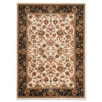 Safavieh Summit Floral Damask 6-Foot 7-Inch x 9-Foot 2-Inch Area Rug in Ivory/Dark Grey